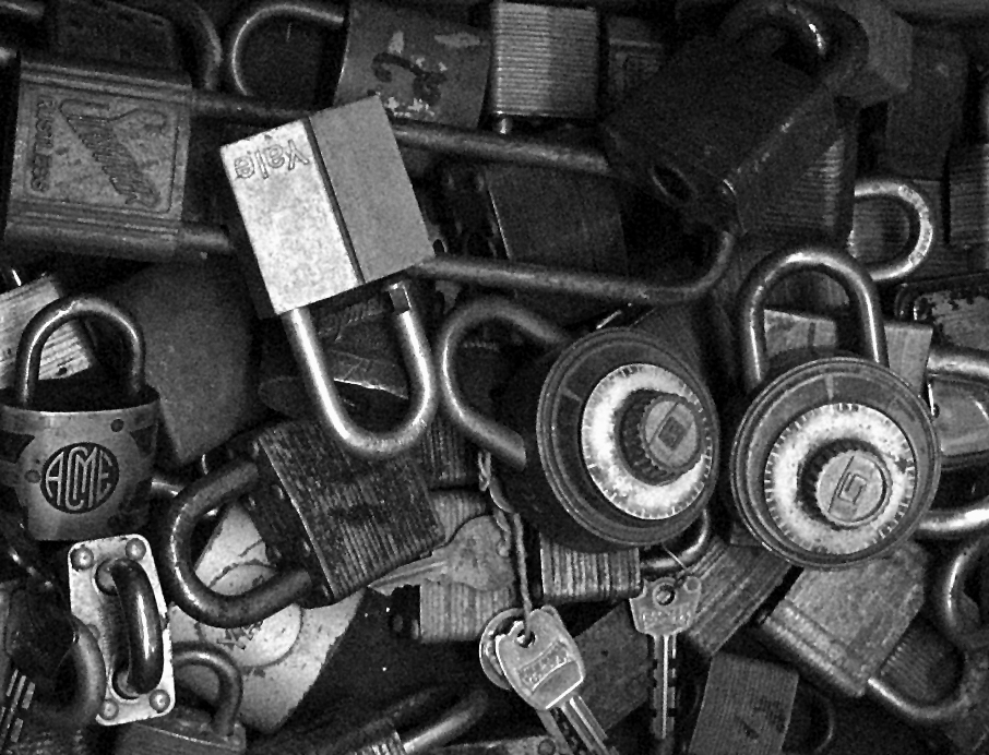 padlocks financial security