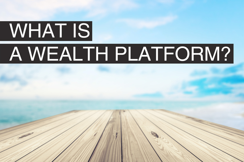 What is a wealth platform